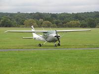 G-BOLV @ EGKR - at redhill - pretty airfiled - by magnaman