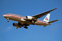 N750AN @ EGLL - Boeing 777-223ER [30259] (American Airlines) Home~G 29/12/2007. On approach 27R.