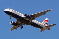 G-EUUD @ EGLL - Airbus A320-232 [1760] (British Airways) Home~G 16/08/2009. On approach 27R.