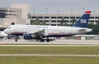 N738US @ PBI - USAirways - by Florida Metal