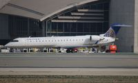 N745SK @ LAX - United Express