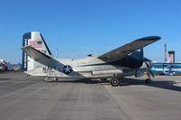 N778SR @ SUA - Grumman C-1A Trader