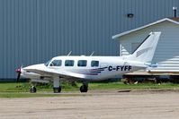 C-FYFF @ CYQF - Piper PA-31-310 Navajo [31-363] Red Deer Regional~C 23/07/2008 - by Ray Barber