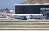 N791AN @ LAX - American One World