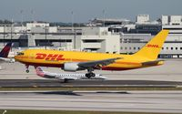 N792AX @ MIA - DHL 767-200 - by Florida Metal