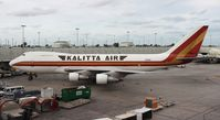 N795CK @ MIA - Kalitta 747-200