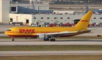 N798AX @ MIA - DHL 767-200