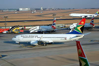 ZS-SJO @ FAJS - Boeing 737-8BG [32357] (South African Airways) Johannesburg-Int'l~ZS 08/10/2003