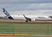D-AVXB @ LFBO - C/n 6839 - First A321NEO prototype with LEAP engines - by Shunn311