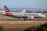 N820AW @ LAX - American