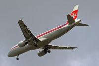 9H-AEI @ EGLL - Airbus A320-214 [2189] (Air Malta) Home~G 03/06/2015. On approach 27R.