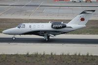 N95KL @ LMML - Cessna 525 Citationjet M2 N95KL