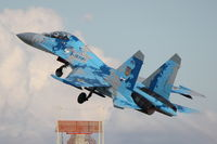 71 @ LMML - Sukhoi SU-27UBM1 Flanker 71 Ukranian Air Force - by Raymond Zammit
