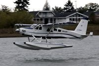 C-FDHC @ YVR - Departure from the Fraser River - by metricbolt