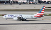 N837NN @ MIA - American One World