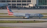N838NN @ MIA - American One World
