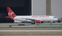 N838VA @ LAX - Virgin America