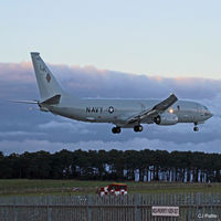 168857 @ EGQS - USN action at RAF Lossiemouth EGQS during Exercise Joint Warrior 16-2 - by Clive Pattle