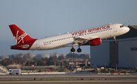 N845VA @ LAX - Virgin America