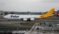 N853GT @ LAX - Polar Air Cargo/DHL