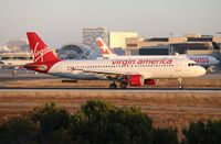 N853VA @ LAX - Virgin America