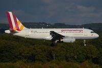 D-AGWF @ EDDK - Germanwings A319 arrival in CGN - by FerryPNL