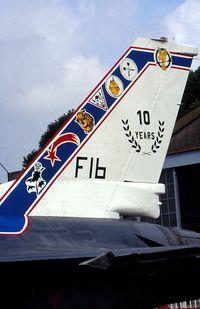 FB-01 @ EBFN - F-16B.SPECIAL COLORS  10 YEARS OCU F16.