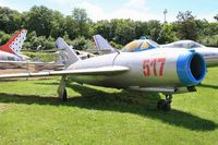 517 - PZL-Mielec Lim-5 (MiG-17F), Preserved at Savigny-Les Beaune Museum - by Yves-Q
