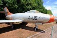 230 - Dassault MD-450 Ouragan, Preserved at Savigny-Les Beaune Museum - by Yves-Q