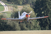 F-AZQQ @ EDST - Arriving at the 2016 Hahnweide Oldtimer Fliegertreffen - by alanh