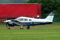 G-DIZY @ EGBP - Piper PA-28R-201T Turbo Arrow III [28R-7703401] Kemble~G 01/07/2005
