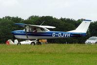 G-OJVH @ EGBP - R/Cessna F.150H [0356] Kemble~G 01/07/2005