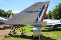 03 - Tail of Dassault Mirage IVA, Preserved at Savigny-Les Beaune Museum - by Yves-Q