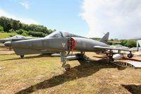 16 - Dassault Etendard IV.M, Preserved at Savigny-Les Beaune Museum - by Yves-Q