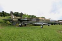 3887 - Mikoyan-Gurevich MiG-23MF, Preserved at Savigny-Les Beaune Museum - by Yves-Q