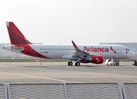 D-ANJB @ LFBO - Ready for ferry flight to another customer... For Air Arabia Maroc... Avianca Brasil ntu. - by Shunn311