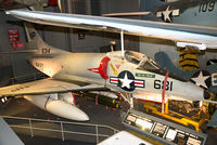 148314 - On display in the Sea-Air Operations exhibition at the National Air and Space Museum.  This Skyhawk is painted in the colors of VA-76 'Spirits' aboard USS Bon Homme Richard in 1967. Cdr. R.B. Fuller, CO of VA-76 was shot down on July 14, 1967 over Vietnam - by Arjun Sarup