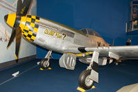"""44-74939 - This Mustang has been painted as """"Willit Run?"""" of the 351st Fighter Squadron, 353rd FG, 8th Air Force based at Raydon in Suffolk."""