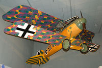 7161 - This Albatros is a late war build that served with Jasta 46 that was formed at Graudenz. It was damaged in combat and was not repaired, eventually finding its way to the USA and was acquired by the Smithsonian.