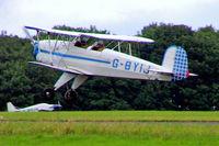 G-BYIJ @ EGBP - CASA 1.131E Jungmann [2110] Kemble~G 02/07/2005