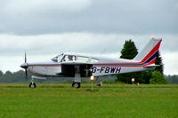 G-FBWH @ EGBP - Piper PA-28R-180 Cherokee Arrow [28R-30368] Kemble~G 02/07/2005