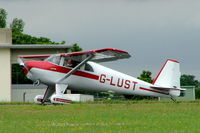 G-LUST @ EGBP - Luscombe 8E Silvaire [6492] Kemble~G 02/07/2005