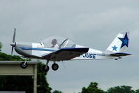 G-JUGE @ EGBP - Evektor EV-97 Eurostar [2003-1709] Kemble~G 02/07/2005