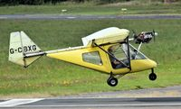 """G-CBXG @ EGAD - """"Touch and go"""" at Newtownards. - by Albert Bridge"""