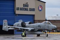 78-0619 @ KBOI - 190th Fighter Sq., 124th Fighter Wing, Idaho ANG. One of 12 A-10Cs back from 6 months in the Middle East. - by raptor767
