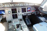 N151UW @ CLT - flight deck...right seat - by Bruce H. Solov