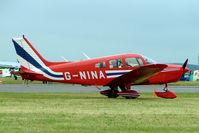 G-NINA @ EGBP - Piper PA-28-161 Cherokee Warrior II [28-7716162] Kemble~G 02/07/2005