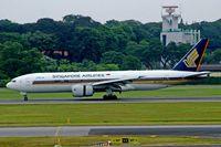 9V-SQF @ WSSS - Boeing 777-212 [28512] Singapore-Changi~9V 13/09/2004 - by Ray Barber