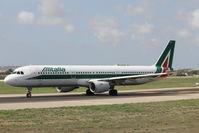 EI-IXJ @ LMML - A321 EI-IXJ Alitalia - by Raymond Zammit