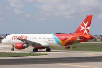 9H-AEK @ LMML - A320 9H-AEK Air Malta - by Raymond Zammit